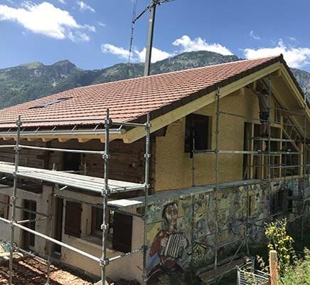 couverture toit serraval