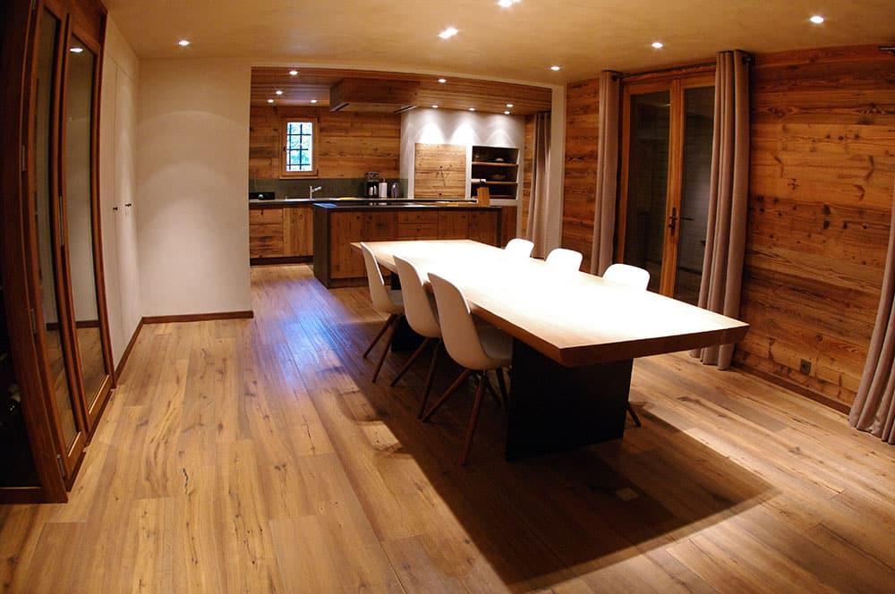 table bois création Aravis